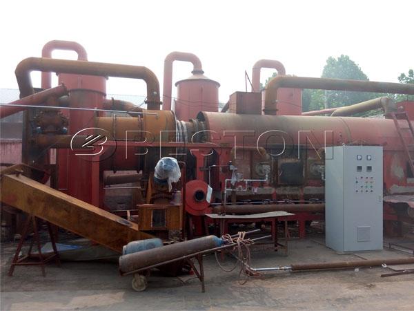 Beston Sugarcane Bagasse Charcoal Making Machine