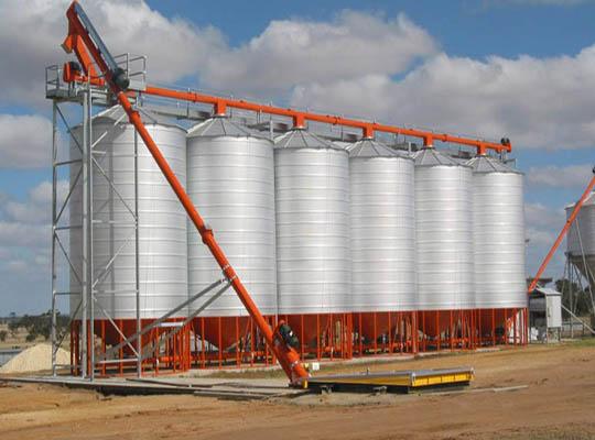 Grain Silo For Storing Grain